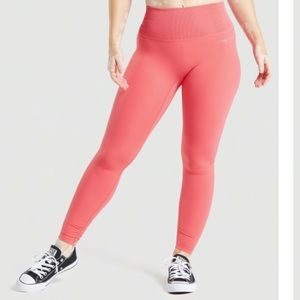 Gymshark Whitney Cyber Red legging